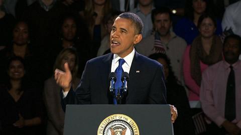 オバマ大統領再選